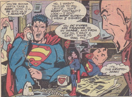 Superman negotiates